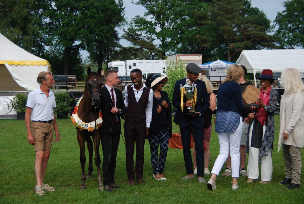 Duke Santonio ME champion Arabian colt